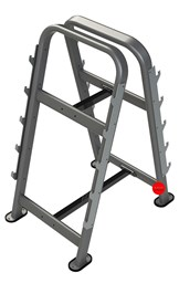 Bild von Exigo 10 Bar Barbell Rack Double Sided